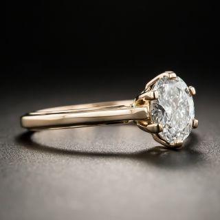 Lang Collection .80 Carat Oval Diamond Ring - GIA E SI1