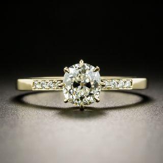 Lang Collection .92 Carat Diamond Engagement Ring - GIA K SI2 - 2