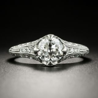 Lang Collection .94 Carat Diamond Engagement Ring - GIA F VS2 - 2