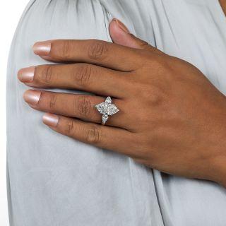 Tiffany 4.36 Carat Marquise Cut Diamond Engagement Ring - GIA E VVS2