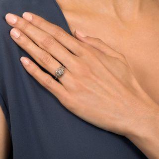 Art Deco .17 Carat Diamond Engagement Ring