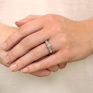 Mid-Century .50 Carat Diamond Engagement Ring