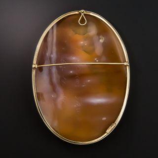 Large 20th Century Cameo Brooch/Pendant