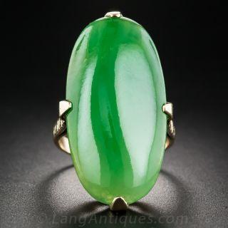 Large Vintage Jade Ring
