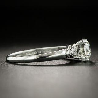 Late Art Deco .98 Carat Diamond Engagement Ring - GIA L VS2