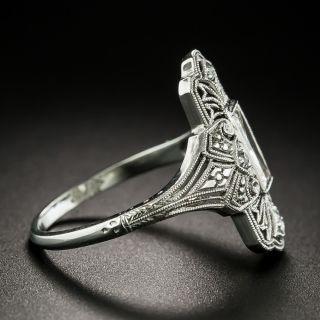 Late Edwardian .45 Carat Diamond Dinner Ring by F & F Felger