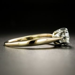 Late Victorian .48 Carat Diamond Solitaire Engagement Ring