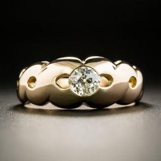 Late-Victorian .50 Carat Diamond Ring - 3