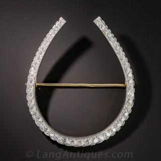 Late Victorian Diamond Horseshoe