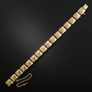 Late Victorian Gold Bracelet