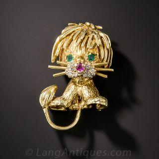 Lion Cub Pin - 1