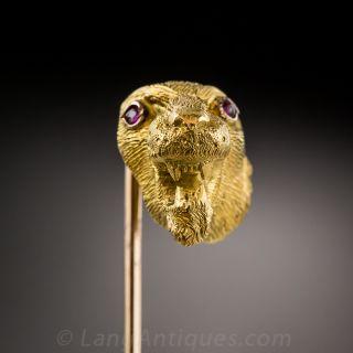 Lioness Stick Pin