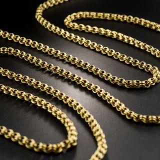 Long 67 1/2 Inch Victorian Chain - 3