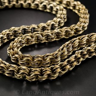 Long Victorian Neck Chain - 1