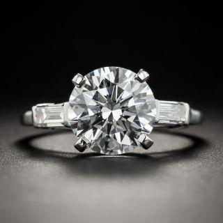 Loose 3.04 Carats D/VVS2 (GIA) Round Brilliant Cut Diamond - 3