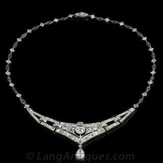 Magnificent Deco Diamond Necklace