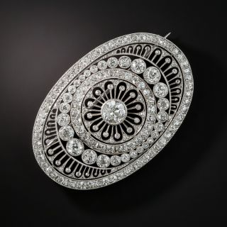 Magnificent Edwardian Diamond Brooch - 2