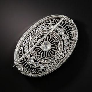 Magnificent Edwardian Diamond Brooch