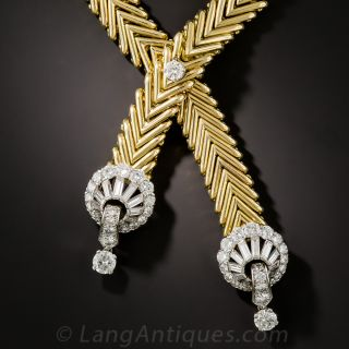 Marchak Diamond Sautoir Necklace