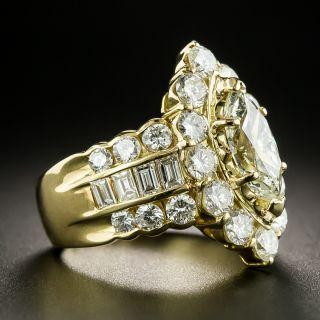 Marquise Diamond Engagement Ring