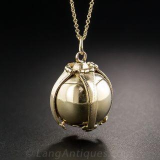 Masonic Ball/Cross Fob Charm - 2