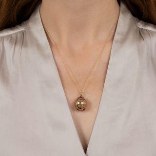 Masonic Ball/Cross Fob Charm