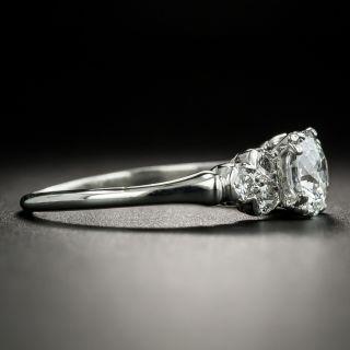 Mid-Century 1.00 Carat Diamond Engagement Ring - GIA E SI1