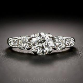 Vintage 1.03 Carat Engagement Ring - GIA I VS1 - 1