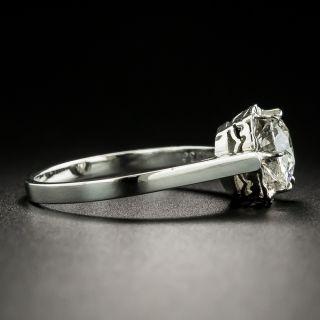 Vintage Style 1.13 Carat Diamond Engagement Ring - GIA I IF