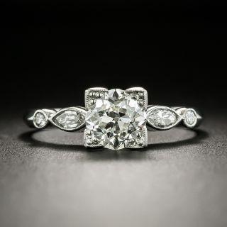 Mid-Century 1.13 Carat Diamond Engagement Ring - GIA I SI1 - 3