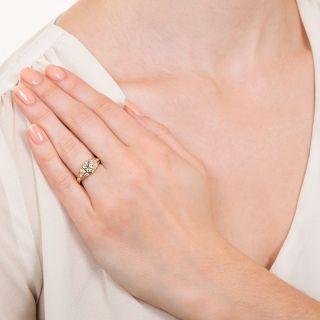 Mid-Century 1.13 Carat Diamond Engagement Ring - GIA N VS2