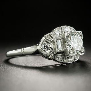 Mid-Century 1.15 Carat Diamond Ring - GIA J VVS2