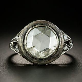 Mid-Century 1.18 Carat Rose-Cut Diamond Ring - 2