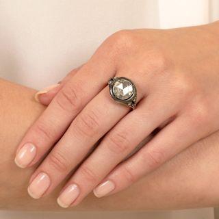 Mid-Century 1.18 Carat Rose-Cut Diamond Ring