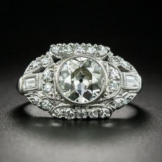 Mid-Century 1.25 Carat Diamond Engagement Ring - 2