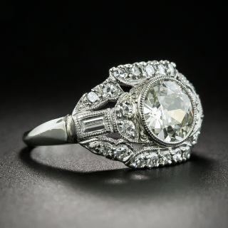 Mid-Century 1.25 Carat Diamond Engagement Ring