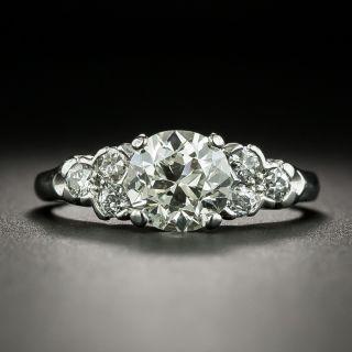 Mid-Century 1.25 Carat Diamond Engagement Ring, GIA K VS1 - 2