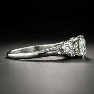 Mid-Century 1.25 Carat Diamond Engagement Ring, GIA K VS1