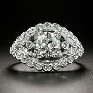 Mid-Century 1.30 Carat Diamond Engagement Ring - GIA I SI1 - 2