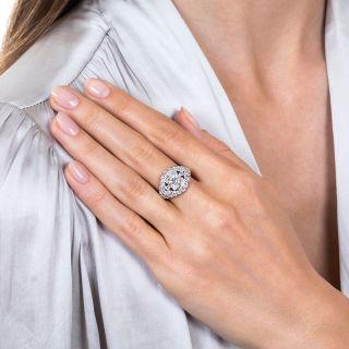 Mid-Century 1.30 Carat Diamond Engagement Ring - GIA I SI1