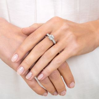 Mid-Century 1.50 Carat Diamond Engagement Ring