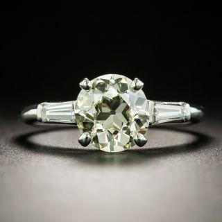 Mid-Century 1.70 Carat Diamond Engagement Ring - 2