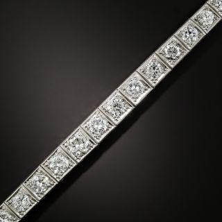 Mid-Century 11.00 Carat Diamond Line Bracelet by Walser, Wald & Cia - 3
