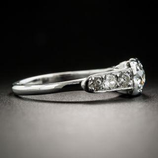 Mid-Century .30 Carat Diamond Engagement Ring