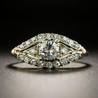 Mid Century .30 Carat Diamond Ring by Silbermann, Kohn, and Wallenstein - 2