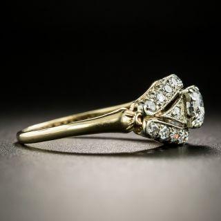 Mid Century .30 Carat Diamond Ring by Silbermann, Kohn, and Wallenstein