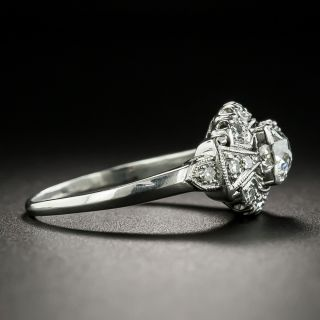 Mid-Century .45 Carat Diamond Engagement Ring