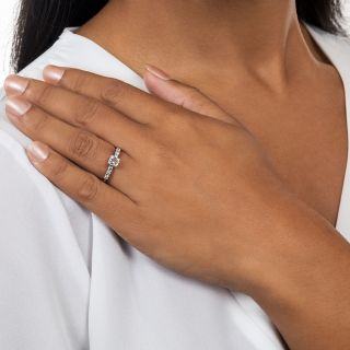 Mid-Century .65 Carat Diamond Engagement Ring