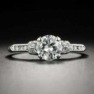 Mid-Century .70 Carat Diamond Engagement Ring by Traube, Orange Blossom - 2