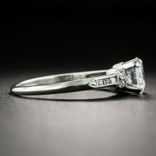 Mid-Century .70 Carat Diamond Engagement Ring by Traube, Orange Blossom